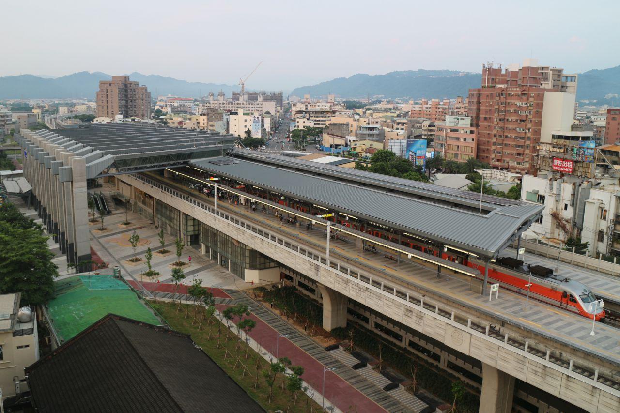 車站西側廣場景觀